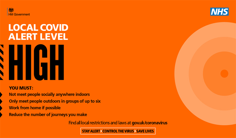 Covid Alert High