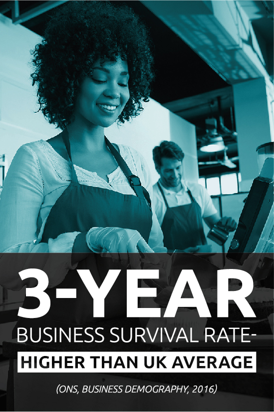 3 year business survival rate