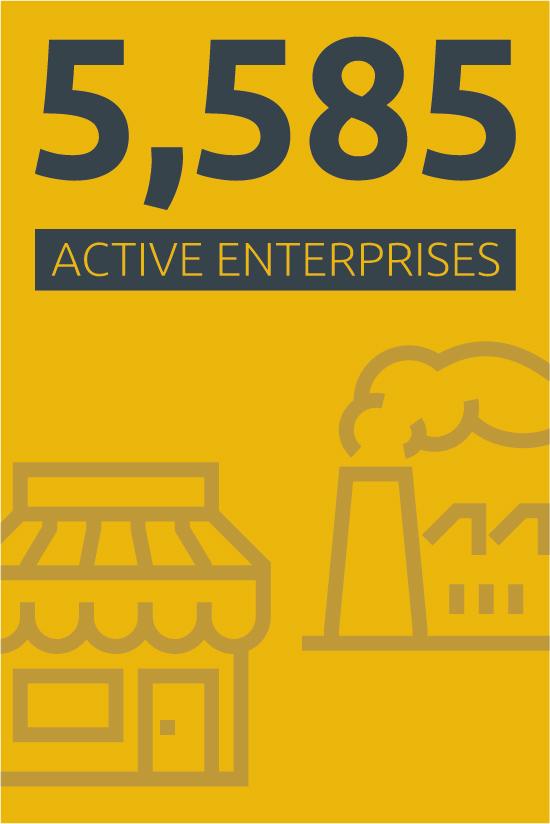 Active enterprises