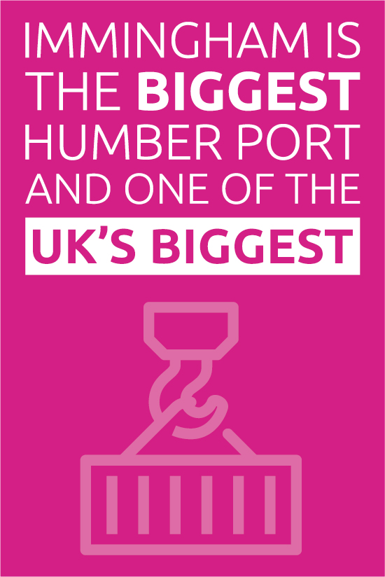 Immingham port